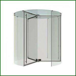 La Puerta Giratoria en solo cristal
