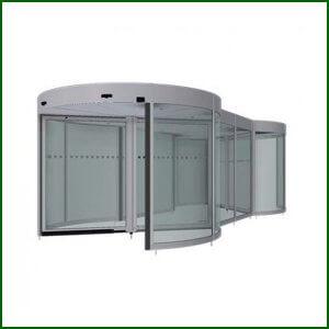 Puerta Giratoria Doble -Twintour