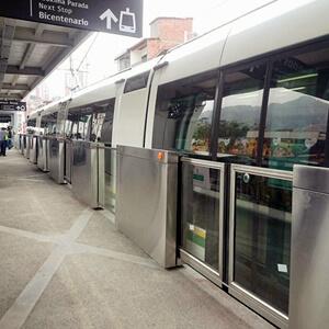 Puertas para plataforma del Metro