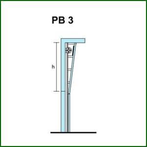 puertas de elevación Vertical