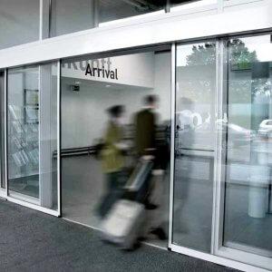 Puertas automáticas deslizantes