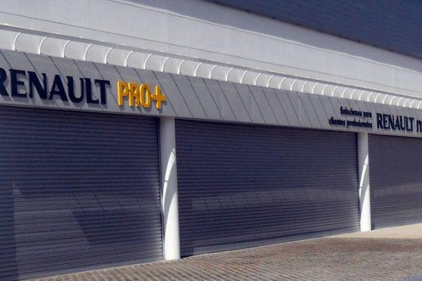 Cortinas Enrollables - concesionario Renault